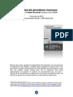 El Periodismo en Mexico. Conferencia del Profesor Rafael Ahumada