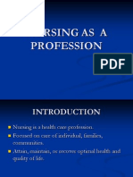 Nursing as Profession