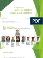Face recognition proposal ppt