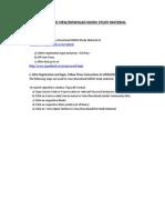Ignou Study Material Link