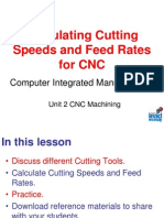 3 - Cutter Speeds and Feeds