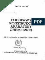 J. Pikoń - Podstawy konstrukcji aparatury chemicznej