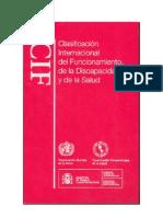 cif - clasificación internacional del funcionamiento, de la discapacidad y de la salud