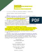 H.G. 37 Din 2008 -Modificare H.G. 355 Supravegherea Starii d