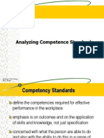 07 Analyzing Competence Sytandard