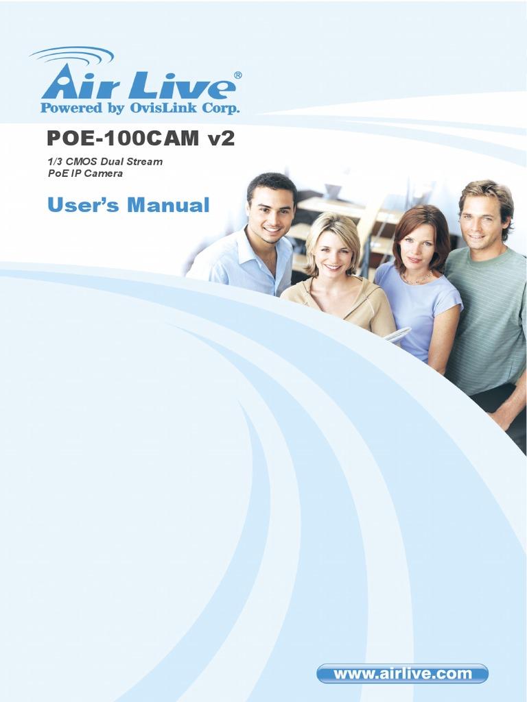 AirLive POE-100CAMv2 IP Treiber Herunterladen