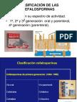 Cefalosporinas Generaciones