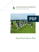 Beech Park Master Plan 2008