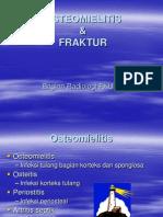 RADIO-Osteomielitis Dan Fraktur