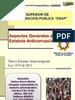 ESAP Estatuto Anticorrupcion