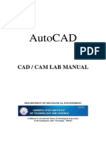AutoCAD Lab Manual 1 1 (1)