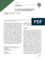 ASTER Data Analysis for Mineral Potential Mapping Around Sawar-Malpura Area, Central Rajasthan by B. K. Bhadra&Suparn Pathak&G. Karunakar& J. R. Sharma