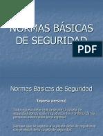 Normas básicas de seguridad
