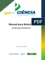 Manual do Bolsista - CsF Graduação Sanduíche - versão 1 - outubro 2013