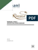 Architectural design guidelines