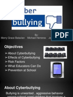 cyber bullying presentation for ed 271