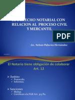 El Derecho Notarial y Su Relacion El Con El Pcm