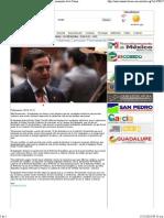 12-12-13 Integra Pedro Pablo Treviño Villarreal Comisión Permanente de la Cámara de Diputados