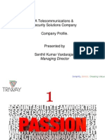 Triway World - The Wireless and Security Company - Global Profile draft