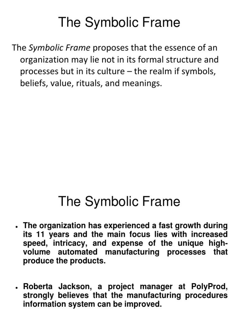 THE SYMBOLIC FRAME.ppt