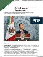 13-12-13 Agradece Peña a diputados aprobación de reformas