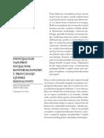 Dzon D. Delamater, Dz. Sibil Hajd - Esencijalizam nasuprot socijalnom konstruktivizmu u proucavanju ljudske seksualnosti