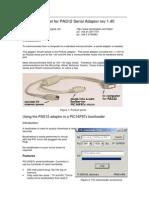 PAS12 Serial Adaptor Datasheet