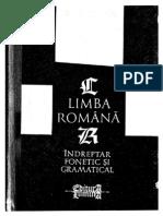 Ciornii, Ion - Limba Romana. Indreptar Fonetic Si Gramatical, 1991