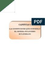 Las Instituciones Que Conforman El Sistema Financiero Ecuatoriano