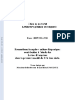 Romantisme français et culture hispanique thèse de doctorat