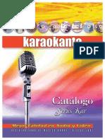 Catalogo Karaokanta