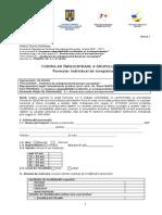 Formular Inregistrare Grup Tinta