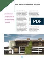 New Facilities Promote Energy-efficient Design PEErinciples