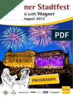 Programm Stadtfest 2013