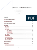 Perl Intro