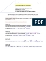 EXERCICE Proba Loi Binomiale SOLUTION