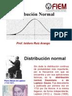 Distribucion Normal RUIZ