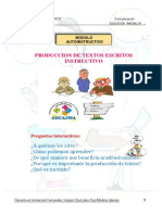 Produccion de Textos Instructivos