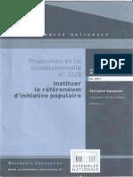 Instituer le Référendum d'Initiative Populaire
