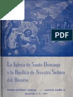 Acuña - La Iglesia de Santo Domingo y la Basílica de Nuestra Señora del Rosario