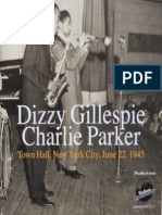 Dizzy Gillespie y Charlie Parker - Town Hall, New York 1945
