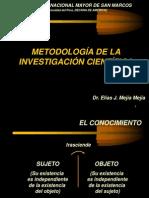 1_Metodología de la Investigación Científica (Profesor Elias Mejia Mejia)