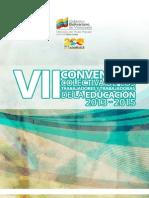 VII Contrato Colectivo 2013 - 2015
