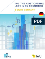 BPIE Cost Optimality Germany Case Study