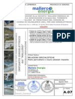 A.07 - Relazioni Specialistiche - Piano Particellare e Visure Catastali Impianto