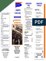 Graduation Info 2013