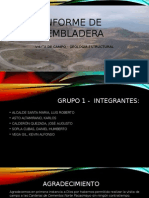 Informe -Visita Tecnica- Tembladera