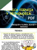 Tecnica Ciencia y Tecnologia