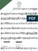Vivaldi - Sonata in C Major RV 48 (Flauta)