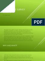 Qualitative Survey Results
